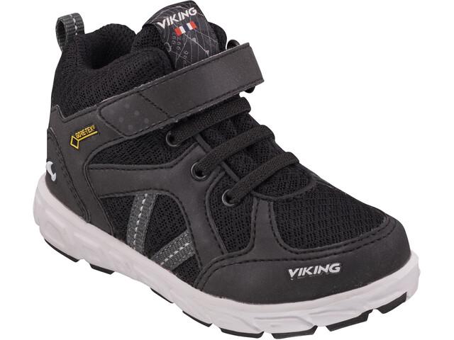 Viking Footwear Alvdal Mid R GTX Shoes Kids, black/charcoal